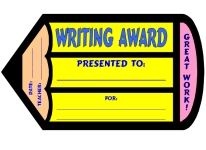 Creative Writing Pencil Awards and Certificates