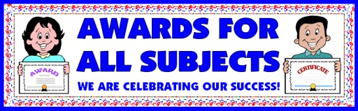 Free Awards and Certificates for All Subjects