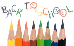Back To School Color Pencils and Elementary School Supplies