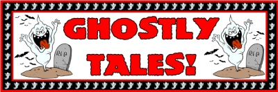 Ghost Halloween Banner