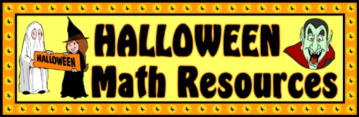 Bulletin Board Banner Math Halloween Teaching Resources