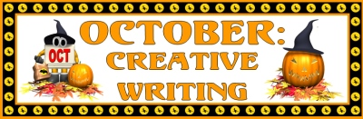 October Creative Writing Banner