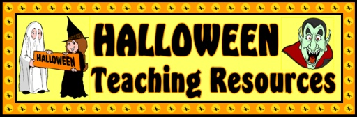 Halloween Teaching Resources Banner