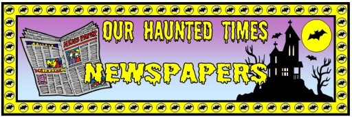 Haunted Times Newspaper Banner