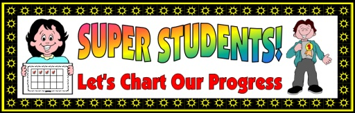 Elementary Students Sticker Charts and Incentive Charts