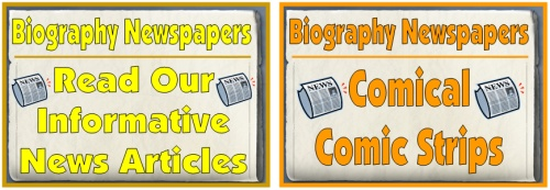 Biography Newspaper Projects Bulletin Board Display Examples
