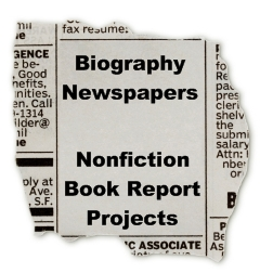 Nonfiction Book Report Projects Biography Newspaper Ideas