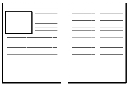 Biography Book Report Newspaper templates printable worksheets – Student Report Template Word