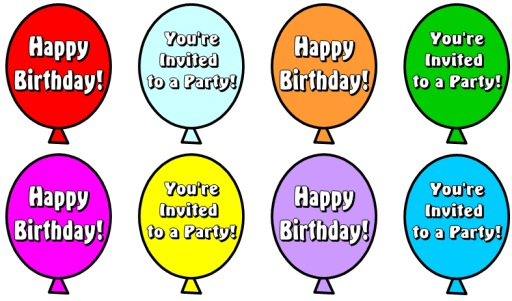 Balloons For Birthday Cake Book Report Lesson Plans