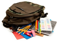 Back To School Book Bag School Supplies
