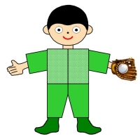 Main Character Book Report Project Boy With Baseball