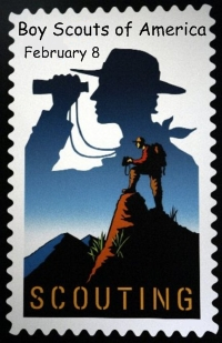 Boy Scouts of American Founded February 8, 1910