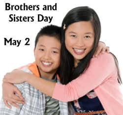 Brothers and Sisters Day May 2 Writing Prompts