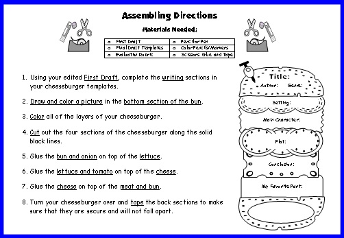 Book Critique Template  classroom freebies book review bookmarks