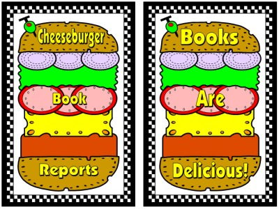Sandwich Book Report Bulletin Board Display Examples