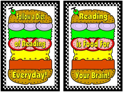 Cheeseburger Book Report Projects Display Ideas and Examples