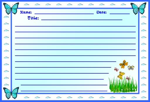 Butterfly Printable Worksheets for Spring Themes