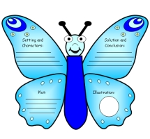 Butterfly Book Report Project Templates
