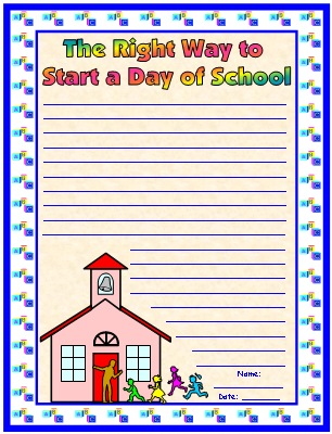 Byrd Baylor Way To Start a Day Final Draft Creative Writing Printable Worksheets