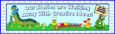 Caterpillar Creative Writing Bulletin Board Display Banner