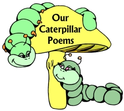 Examples of Caterpillar Shaped Creative Writing Poetry Templates and Worksheets