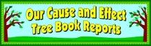 Cause and Effect Book Report Project Banner