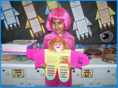 Violet Beauregarde by Roald Dahl Main Character Book Report Project