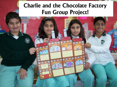 Charlie and the Chocolate Factory Roald Dahl Fun Group Project Templates