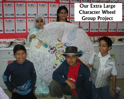 Fun Roald Dahl Day Projects and Ideas Large Character Wheel Group Project