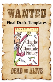 Charlie and the Chocolate Factory Wanted Poster Projects Examples of Templates