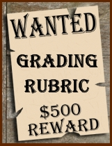 Wanted Poster Grading Rubric Charlie and the Chocolate Factory Projects