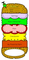 Cheeseburger Book Report Projects: Ideas and Examples of Fun Templates