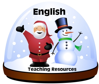 Winter English Teaching Resources and Activities for Christmas