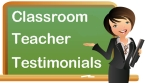 Classroom Teacher Testimonials About Unique Teaching Resources
