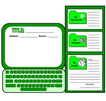Computer Book Report Projects and Writing Templates