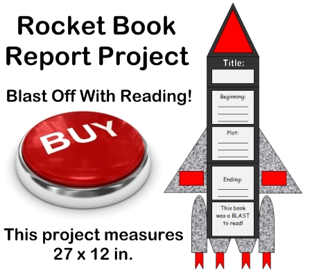 Creative Book Report Project Ideas - Rocket Templates