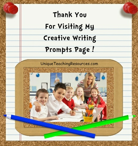 elementary school writing prompts A large list of creative writing prompts, ideas, lists, and creative writing resources for elementary school students and teachers.