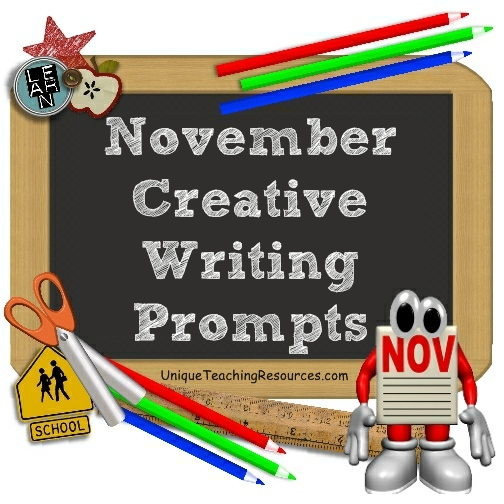November Writing Prompts and Creative Journal Ideas