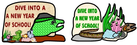 Free Dive Into a New Year of School Moray Eel