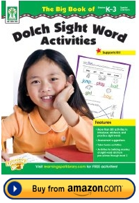 Dolch Sight Word Resource Book Grades K - 3