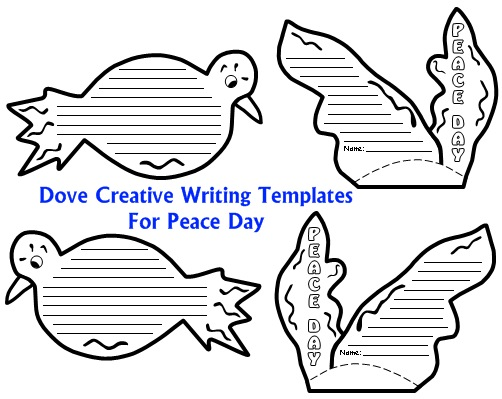 Activities for Peace Day Dove Writing Templates and Projects