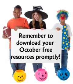 Download October Free Teaching Resources Promptly