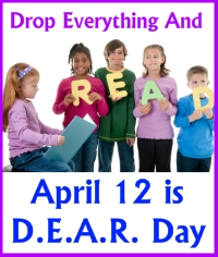 Drop Everything and Read D.E.A.R. Day April 12