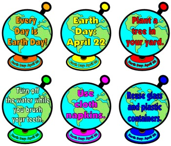 Earth Day Bulletin Board Idea