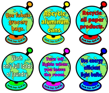 Earth Day Bulletin Board Display Elementary Classroom