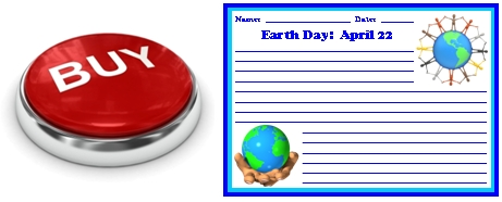Buy Earth Day Stationery and Banner Set Now