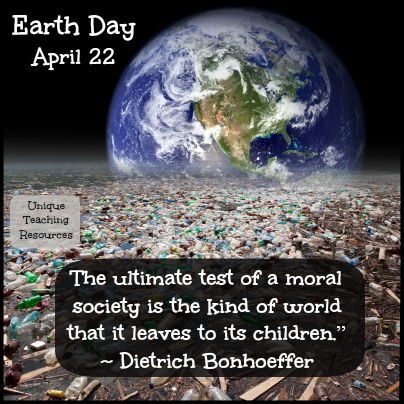 Environmental Earth Day Quote by Dietrich Bonhoeffer