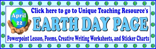 Earth Day April 22 Lesson Plans and Teaching Resources