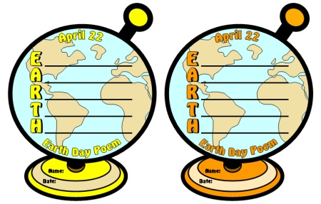 Earth Day April 22 Poems and Poetry Lesson Plans
