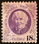 Elizabeth Blackwell Birthday January 23, 1849